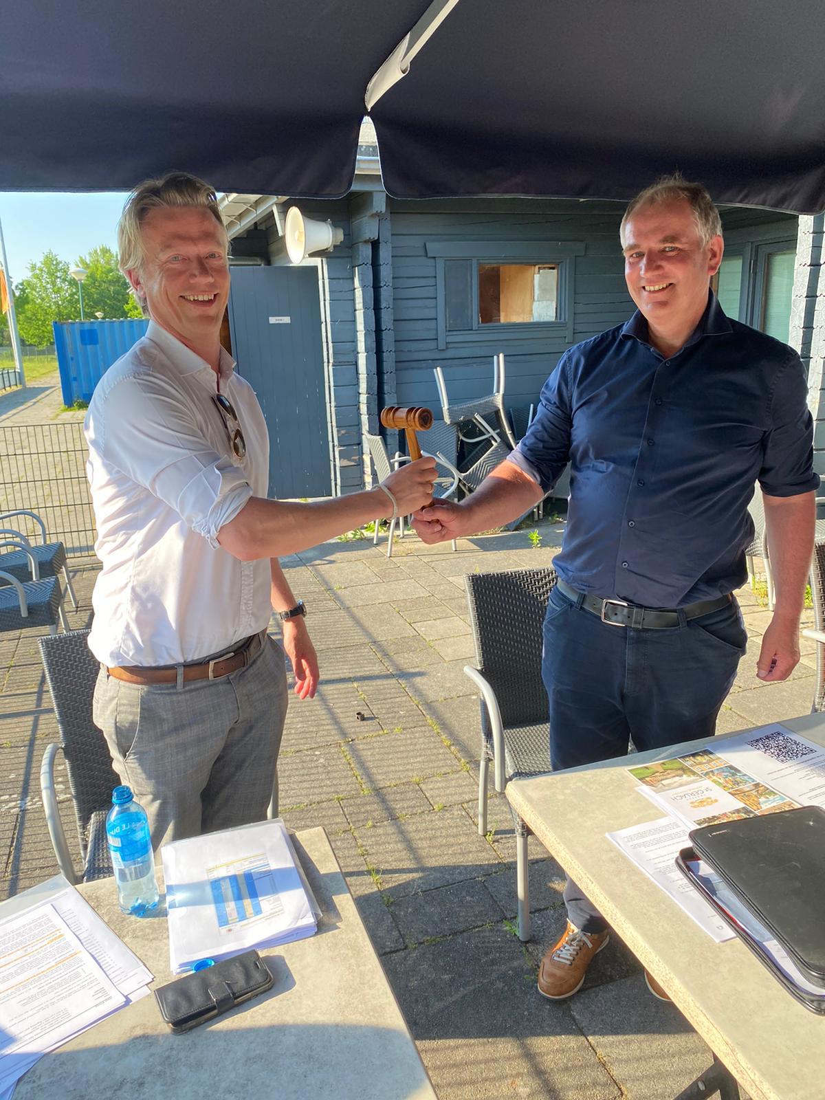 Afscheid Berend van Bon en benoeming Sanne Schuurman tot voorzitter van FC Breukelen