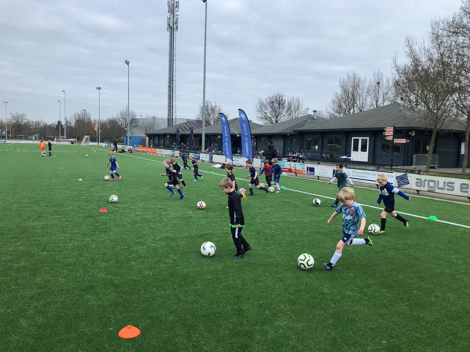 FC Breukelen jeugddagen 22 en 23 februari jl.